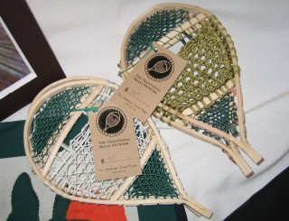 The Traditional Skills Network hangtags tell buyers that these are traditional local crafts. Photo: J. Pye